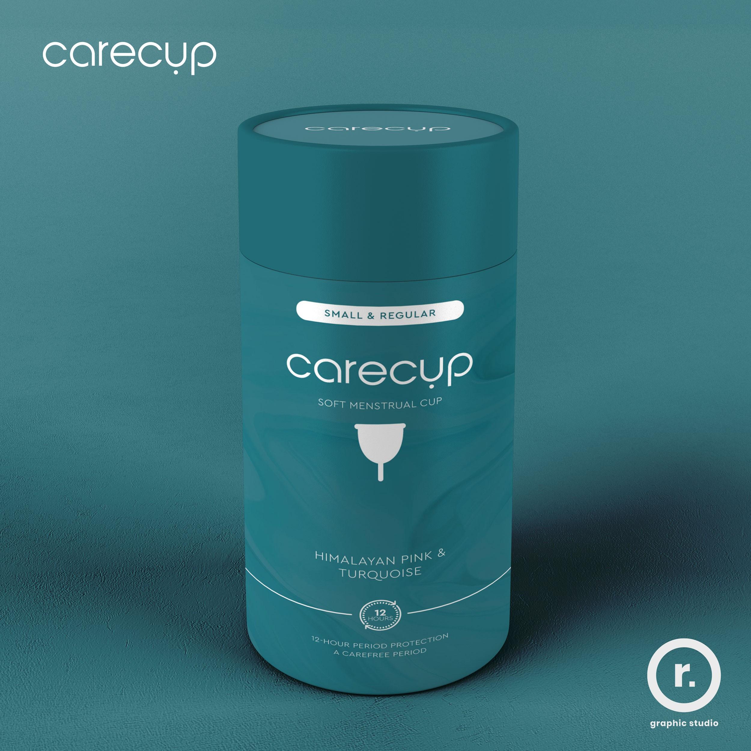 """Modern Menstrual Care Package Design """"CareCup"""""""