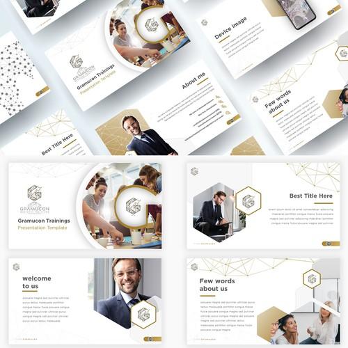 Corporate PowerPoint Presentation Design