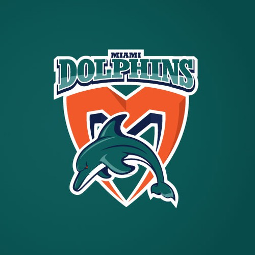 99designs community contest: Help the Miami Dolphins NFL team re-design its logo!