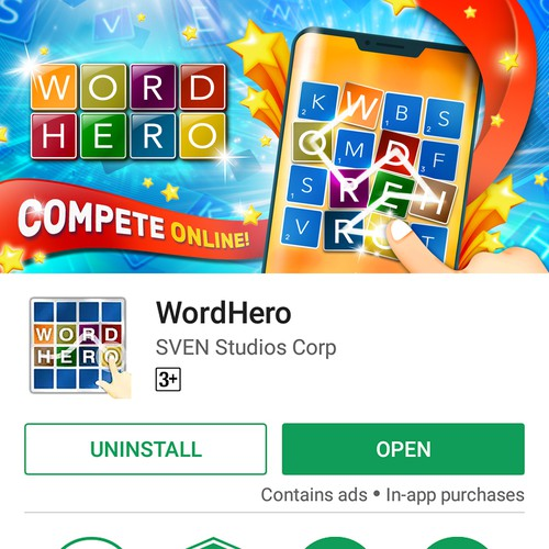 Word Hero Feature Graphic