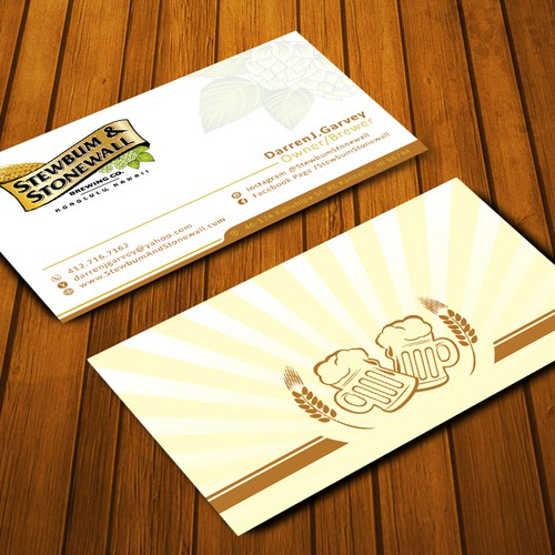 Brewery Business Card Contest!
