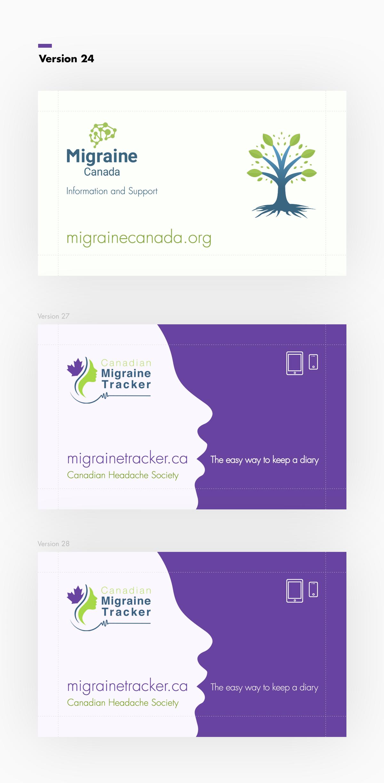 Standard business card design.