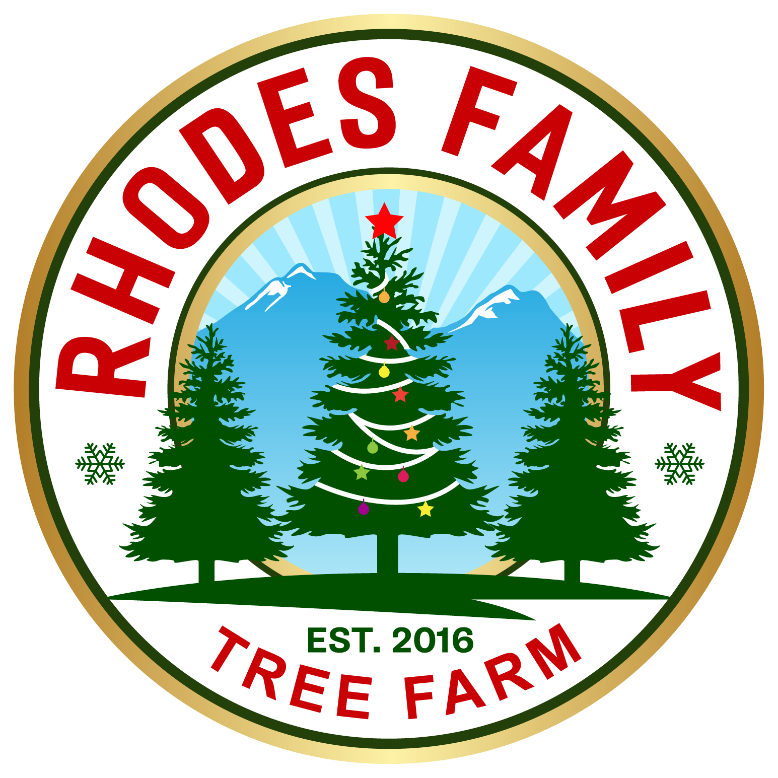 Logo needed for new family Christmas Tree farm located in California mountains