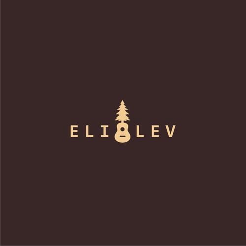 Logo concept for folk musician.