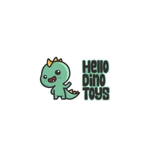 Hello Dino Toys logo