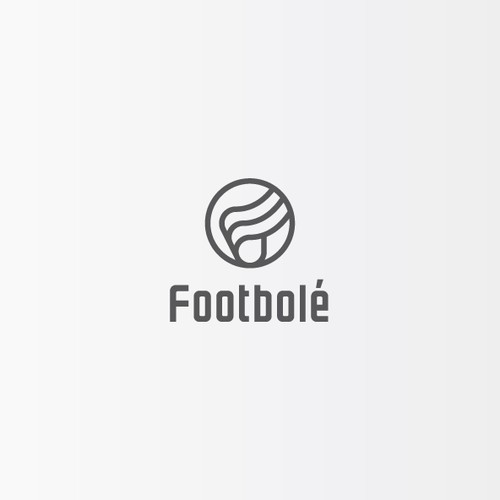 Logotype for a football (soccer) brand