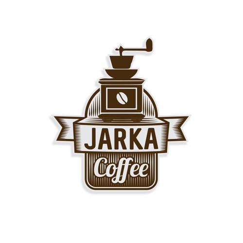 Logo for a fine coffee brand