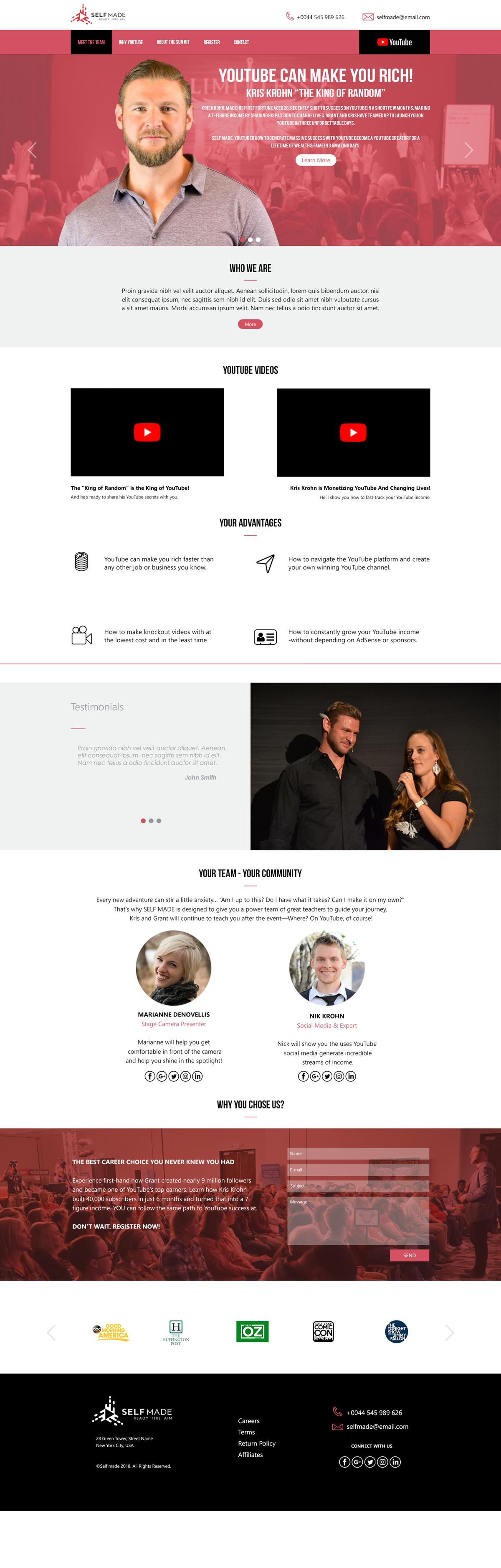 Self Made Website v2