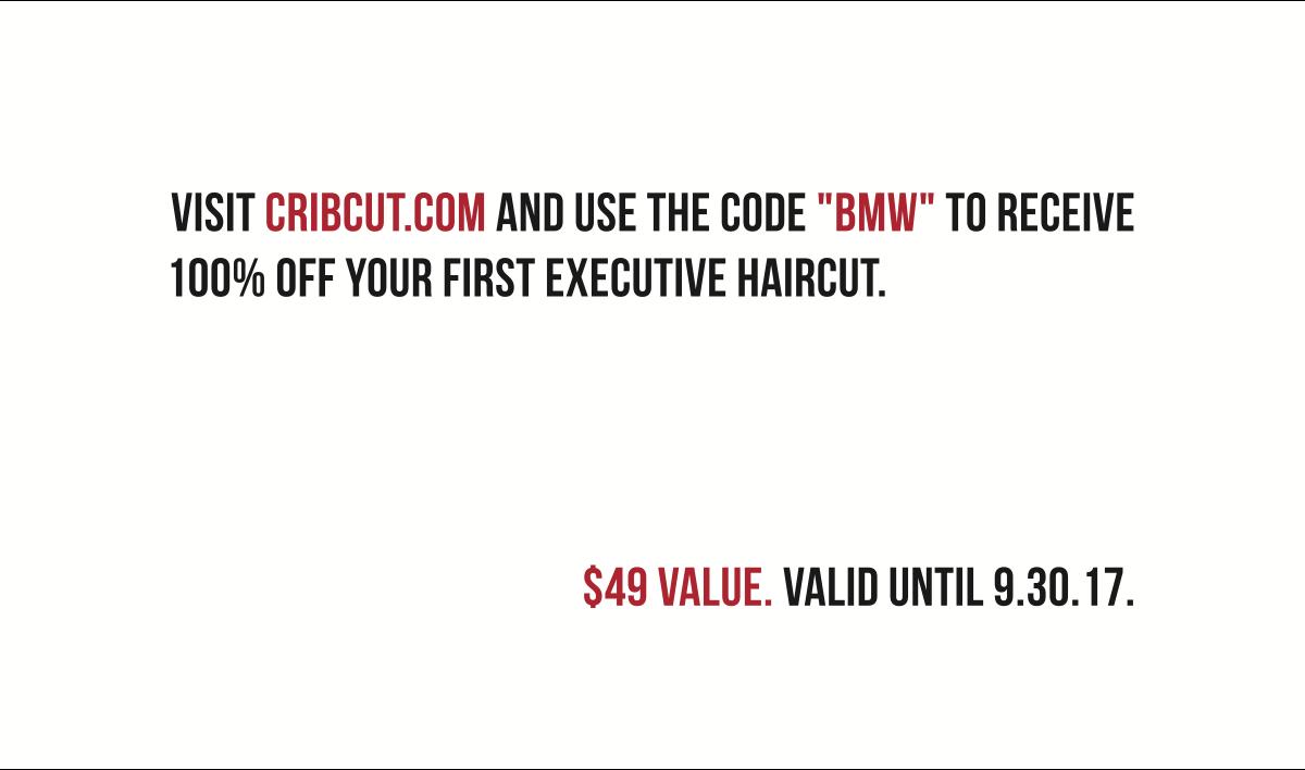 VIP Referral Card for Cribcut.com