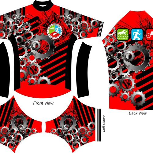 Help us stay alive (and look good) with a high-visibility bike jersey!