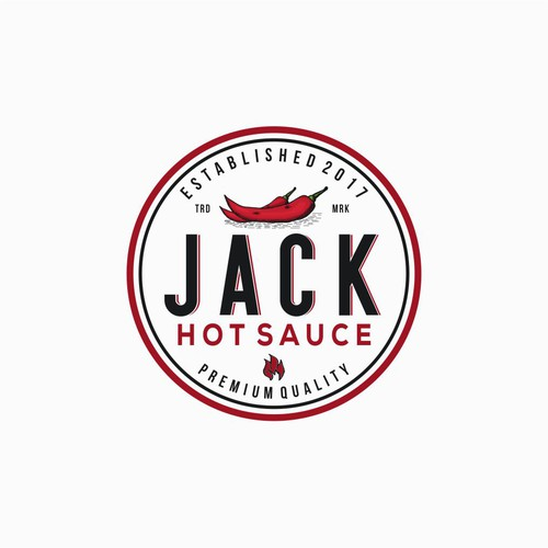 Logo Concept for Jack Hot Sauce