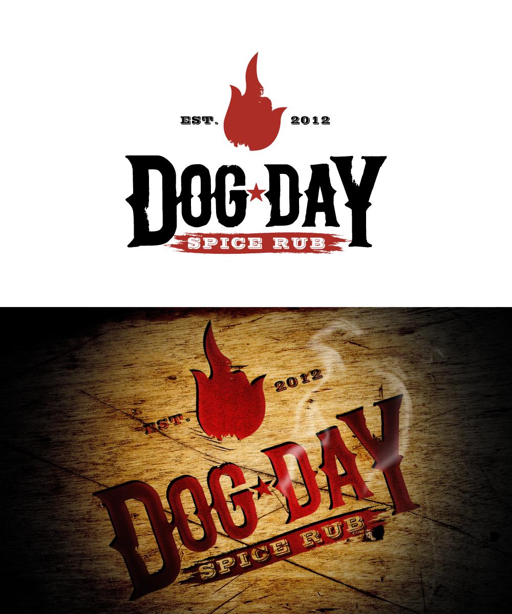 logo for Dog Day Spice Rub