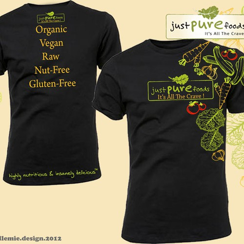 Organic Snack Co. Needs Earthy&Fun Shirt Design