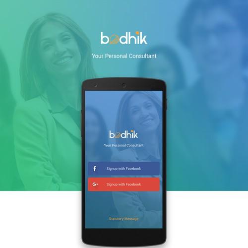 Bodhik app design