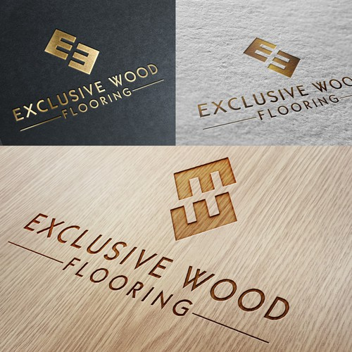 Create a Winning Logo Design for Exclusive Wood Flooring