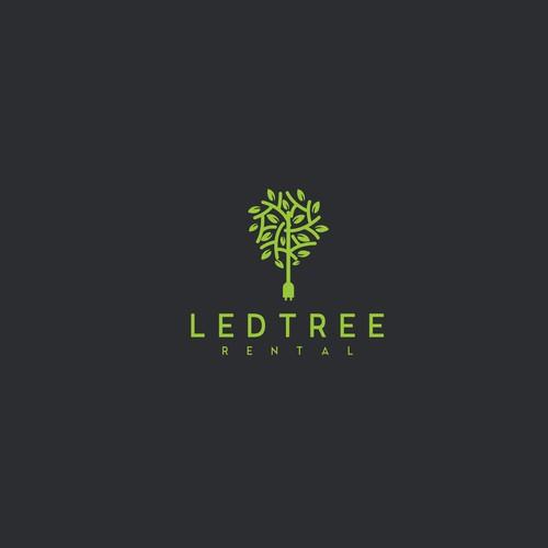 Led tree rental