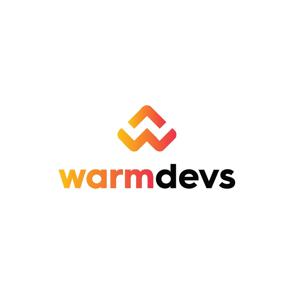 Design modern gradientish logo for web development company