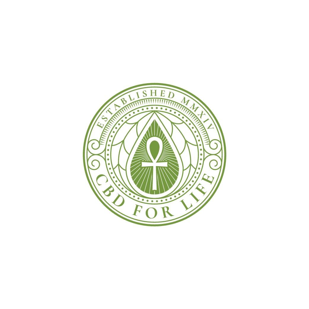 CBD For Life Logo Design