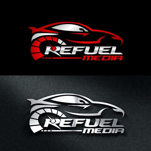Modern automotive industry logo design