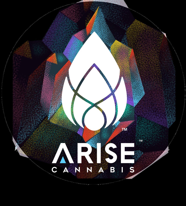 Creative Cannabis Company Marketing Sticker Using Logo