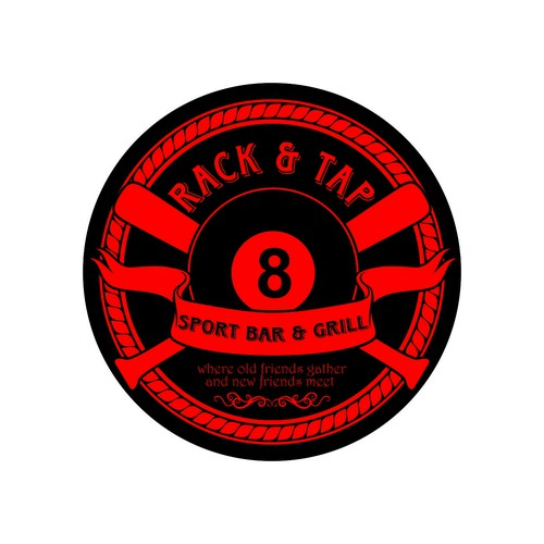 I am a bar owner with a lot of bars around me, create an exciting new logo with eye catching apeal.