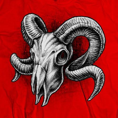 Skull of aries