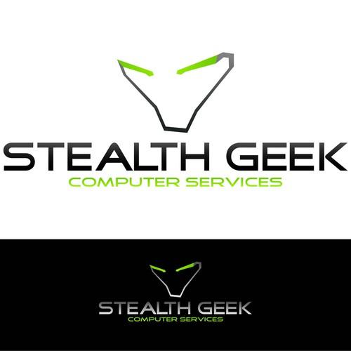 Stealth Geeks Seeking Logo