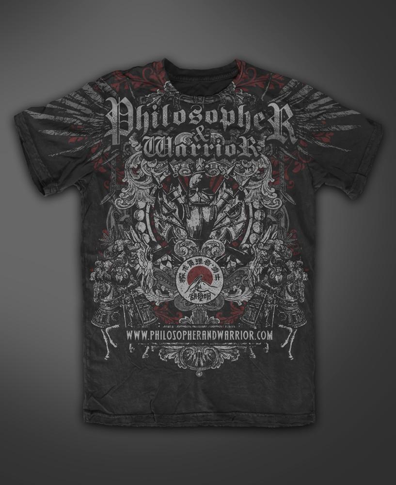Philosopher & warrior needs a new t-shirt design