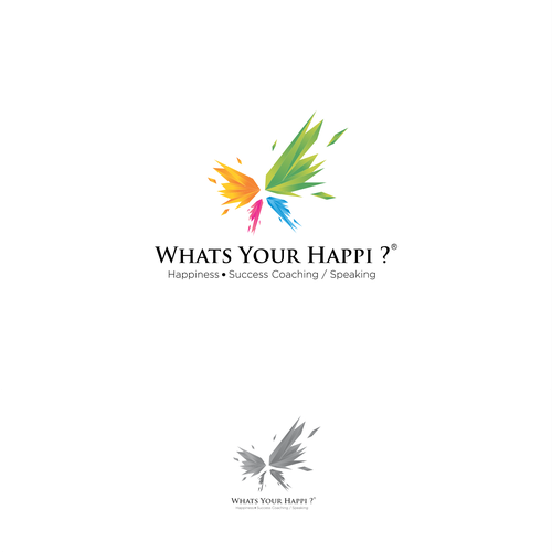 Logo for  Happiness coach/speaker