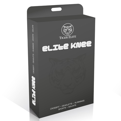 Tiger Elite - Knee Sleeve Packaging