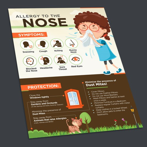 Infographic for the Allergy to the Nose