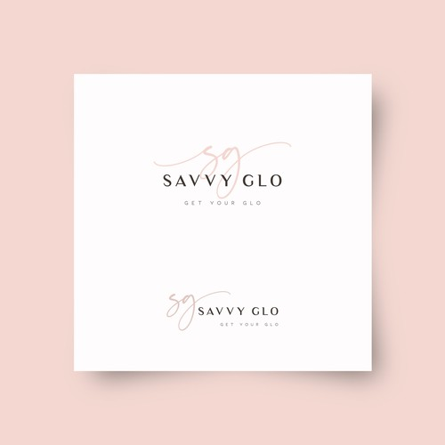 Logo for Savvy Glo