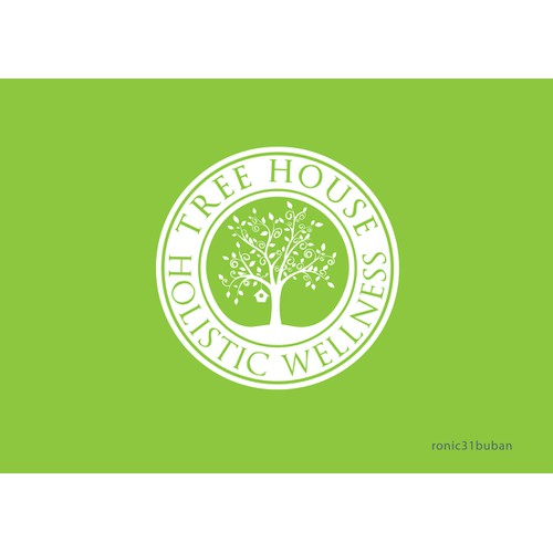 Create the next logo for Tree House Holistic Wellness