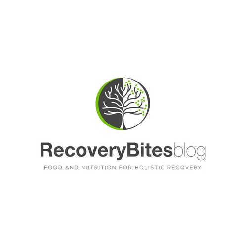 Logo for a Nutrition Recovery blog