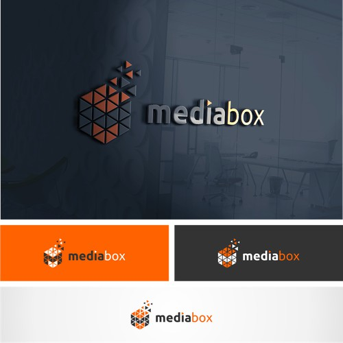 Lettermark M logo for mediabox