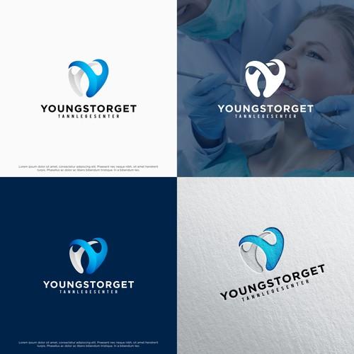Letter Y logo for Dental Company