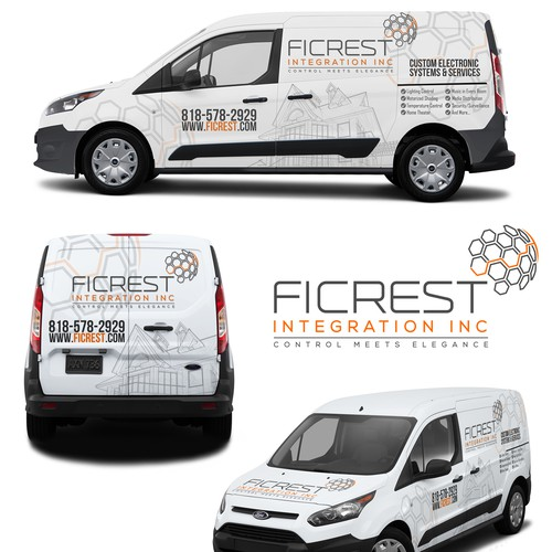 FiCrest Vehicle Wrap