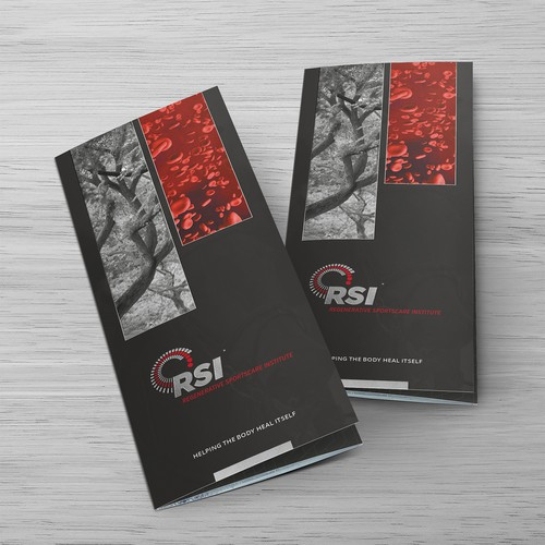 Sophisticated Tri-fold Brochure for RSI