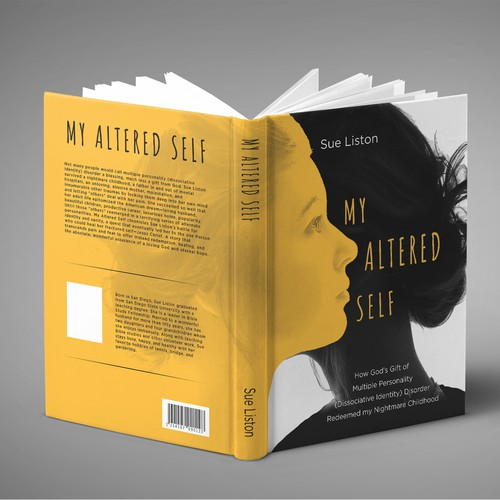 Book Cover for a Memoir of Multi-Personality Disorder