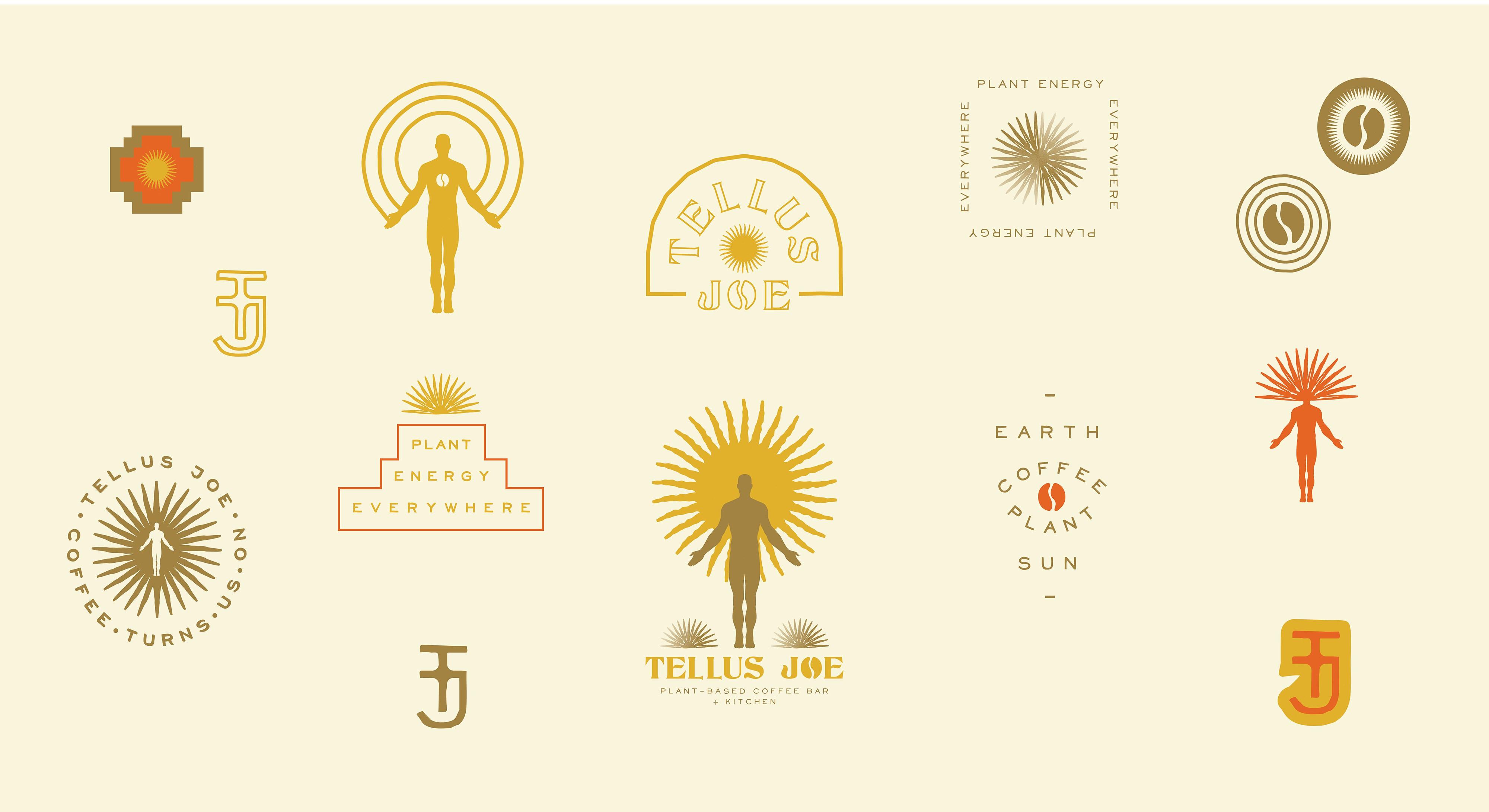 Tellus Joe Phase 2: Branding Icons