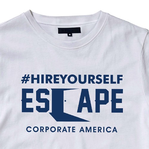 t-shirt for those escaping corporate america
