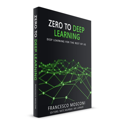 Zero to Deep learning Book Cover Design