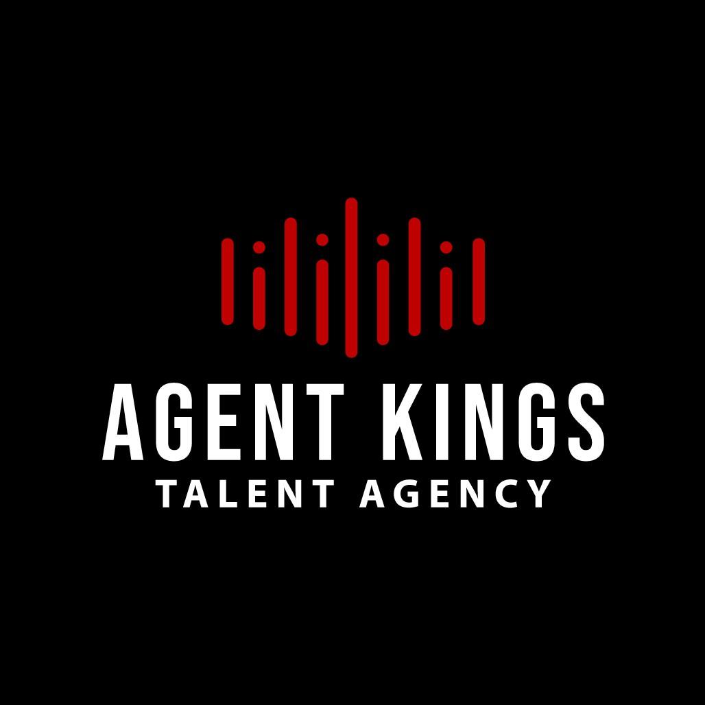 Design a dynamic logo for an emerging music talent agency