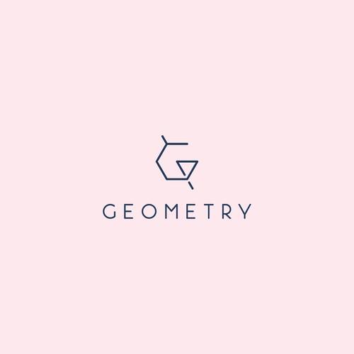 Elegant design for Geometry Coffee