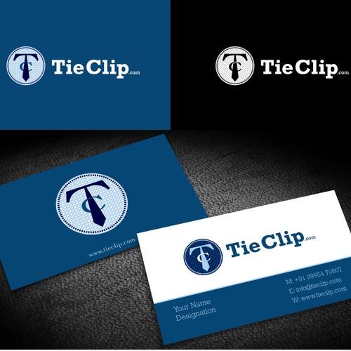 Vintage Men's Jewelry Logo for TieClip.com