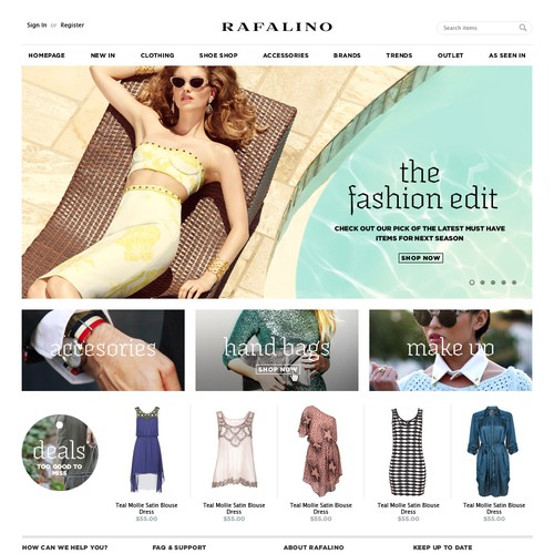 Rafalino needs a new website design