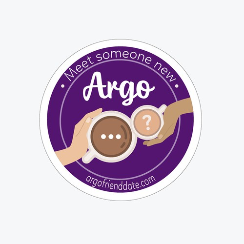 Sticker for Blind Date Community