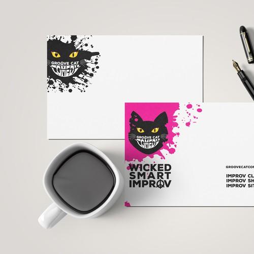Groovy Postcard Design