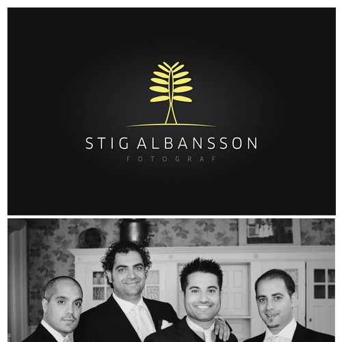 Create the next logo for Stig Albansson (photographer - fotograf)