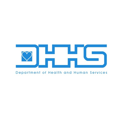 Creating an internal logo for a local government public health and social services organization